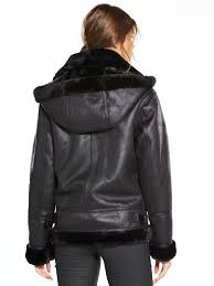 warehouse warehouse faux leather hooded oversized biker jacket women lvvgm gxngoaa