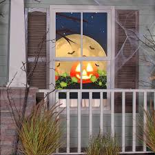 Cinemotion Halloween Movies Light Projection Stake With Sound Gemmy Cinemotion Multi Function Multicolor Led Projector