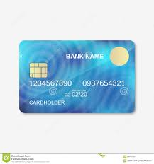 Free Credit Card Designs Bank Card Credit Card Design Template Stock Vector