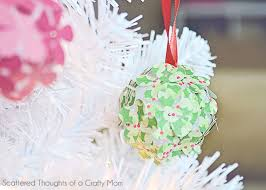Paper Flower Christmas Tree Paper Flower Christmas Tree Ornament Craft For Kids Scattered
