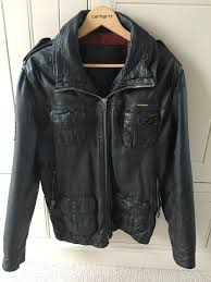 superdry leather jacket large mens superdry black superdry shirts superdry windcheater world wide renown