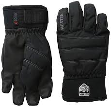 Hestra Ski Gloves For Kids Youth All Mountain Waterproof C Zone Primaloft Winter Cold Weather Glove