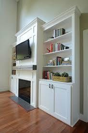 Living Room Built Ins Living Room Built In Cabinets Decor And The Dog