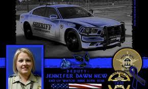 In Memoriam Deputy Jennifer New