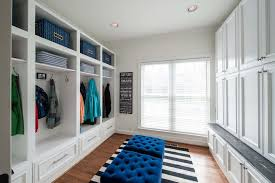 large mudroom decorating ideas entry transitional with family