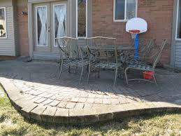 how to build a paver patio on slope ideas