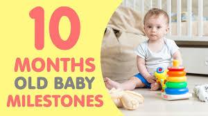 Baby Milestone Chart India 10 Month Old Baby Milestones