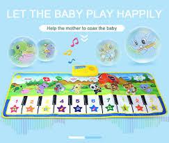 Musical Music Kid Piano <b>baby</b> Play Mat Animal Theme Educational ...