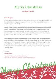 Minimalist Blue And Red Santa Letter Templates By Canva