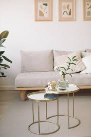 small living room round table