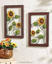 sunflower kitchen wall art
