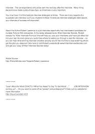 Follow Up Letter For Job Sample Thank You Following