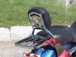 Sportster Backrest Luggage Rack