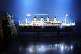 Titanic Model With Led Lights