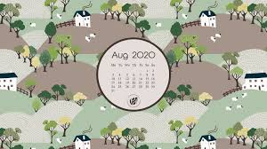 August 2020 free calendar wallpapers ...