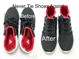 never tie your shoes again by desiviva diy elastic