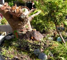 Small Picture Brilliant Fairy Gardening Miniature Garden Example R With Design Ideas