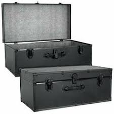 seward trunk barracks footlocker trunk in black with black binding 5115 10 by seward trunk amazoncom alba pmclas chromy