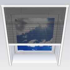 1plus Fliegengitter Plissee Für Dachfenster Insektenschutz Dachfensterplissee In Weiß In Verschiedenen Größen Und Varianten 114 Cm Breit