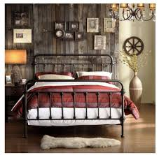 GQyiiCL SL Fancy Iron Bed Frame Queen - Modern Home Decoration and ...