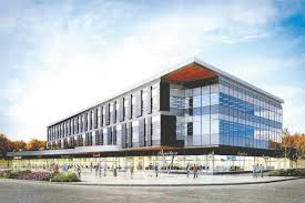 eco friendly corporate office.  Office Sifton Properties New Head Office Building Shown In An Artists  Rendering Will Incorporate Energy Efficiency Features And Design That Be Featured  For Eco Friendly Corporate Office