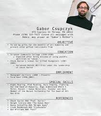Gabor Csupczyk's Resume | The Office | #TheOffice