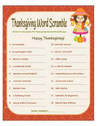 Thanksgiving Word Scramble Printable Thanksgiving Word Game Thanksgiving Party Game Thanksgiving Game Fall Party Game Printables 4 Less