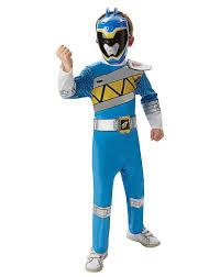 Light Blue Power Ranger Costume Blue Dino Charge Power Ranger Costume Superhero Fancy