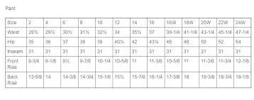 Natori Size Chart Natori Size Chart Qmsdnug Org