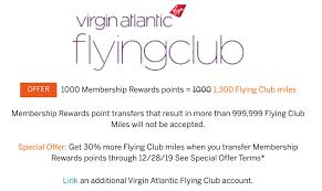 Amex Travel Points Chart Get A 30 Bonus When Transferring Amex Membership Rewards To