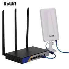 <b>KuWFi 300mbps High</b> Power OpenWRT Preloaded <b>Wireless Router</b> ...