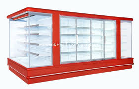 Stand Up Display Freezer Upright Display Freezer Open Deck Chillers Danfoss 100100100 96
