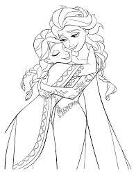 Disney Princess Coloring Pages Frozen Elsa And Anna Frozen Coloring