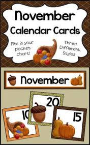 november calendar header november pocket chart calendar numbers calendar numbers header