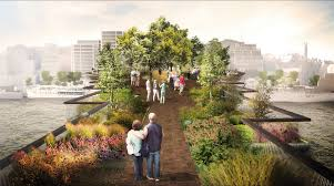 Small Picture Londons Garden Bridge to bring tranquility foot traffic to the