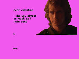 Here are only the best star wars wallpapers. 34 Perfect Star Wars Valentines To Give The Obi Wan For You Valentines Memes Starwars Valentines Cards Star Wars Valentines
