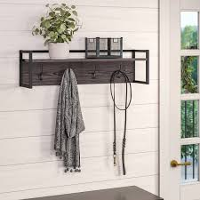 sipp wall mounted coat rack wall