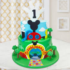 Mickey Mouse Clubhouse Cake Box Of Cake