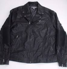 kenneth cole reaction men s moto wool coat black sz x