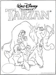 Small Picture Tarzan color page disney coloring pages color plate coloring