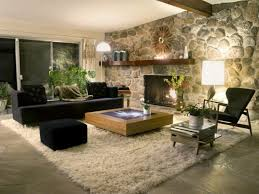 Modern Rustic Living Room Living Room Rustic Living Room With Wooden Wall Cool Fireplace