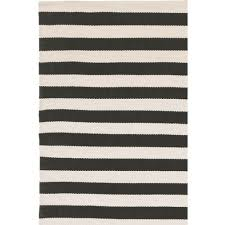 black and cream rug. Stripe Black / Cream For Indoor Outdoor Rug And