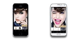 the genius apps allow customers to use their smartphone cameras to snap pictures of themselves and apply virtual l oreal s such as lipsticks and