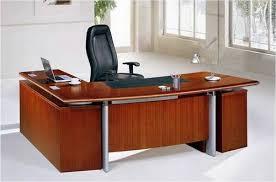 office desk l. Home Office Desks L Shaped. Brown Solid Wood LShape Desk 4