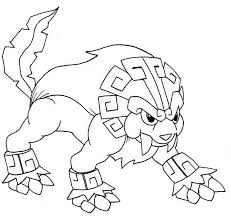 Legendary Pokemon Coloring Pages Dog Coloringstar