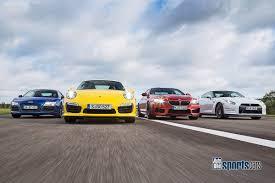 BMW 5 Series bmw m6 vs maserati granturismo : M6 F13 Competition vs 911 Turbo S vs Nissan GT-R Black Edition vs ...