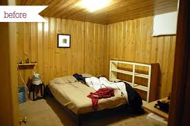 Fabulous Ideas For Unfinished Basement Bedroom - Ununfinished basement before and after