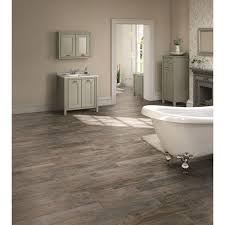 MARAZZI Montagna White Wash  In X  In Glazed Porcelain Floor - Glazed bathroom tile