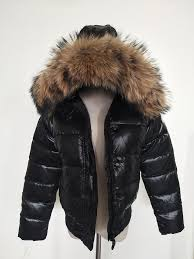 2019 m women down jacket thickening short down parkas 100 real rac fur collar hood down coat black red color from xiaowu555 110 56 dhgate com