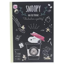 Snoopy Side Ruled Line Notebook B5 Learning Notebook Peanut Crux Shinnyu Study Shinnyu Garden Preparations Stationery Fancy Goods Mail Order Cinema